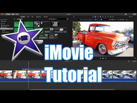 iMovie Tutorial for Beginners - How to Use iMovie