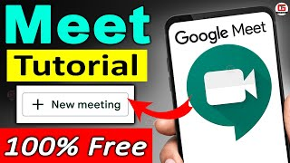Google Meet Tutorial in Hindi for Teachers, Students, Parents - How to Use Google Meet, Screen Share