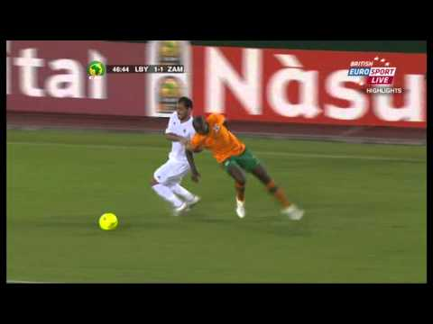 African Nations Cup 2012 Libya 2 : 2 Zambia [ALL GOALS]