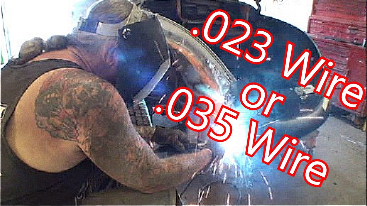 How To Use A MIg Welder-Choosing The Correct Wire Size ...