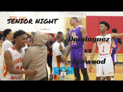 Dominguez Senior Night goes down to the WIRE!! | Full Game Recap vs Lynwood