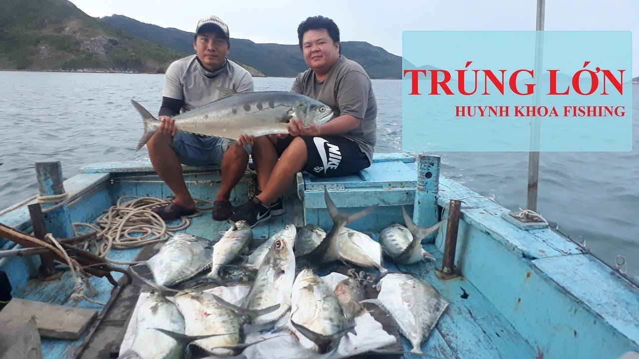 TOUR CÂU CÁ GIẢI TRÍ BIỂN CÔN ĐẢO |  CÂU CÁ MIỀN TÂY | HUYNH KHOA FISHING