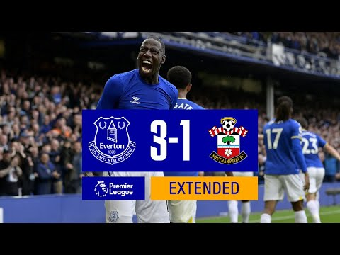 Download EXTENDED HIGHLIGHTS: EVERTON 3-1 SOUTHAMPTON