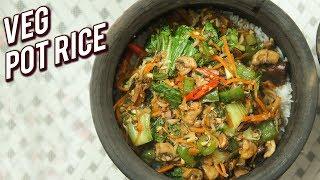 Veg Pot Rice Recipe - Quick &amp Easy Rice Recipe - One Pot Meal - Ruchi