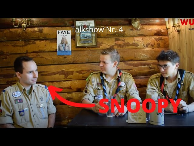 Talkshow mit Snoopy | Nr. 04 | Pfadi Wulp TV
