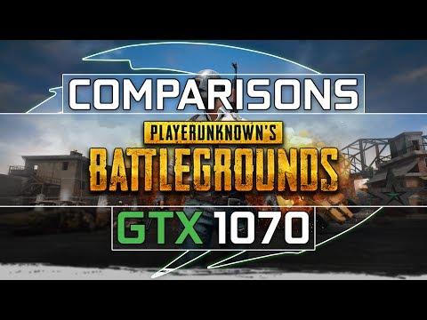 GTX 1070 | i5-6600 PLAYERUNKNOWN'S BATTLEGROUNDS (1080p + 1440p) (1080p60FPS)
