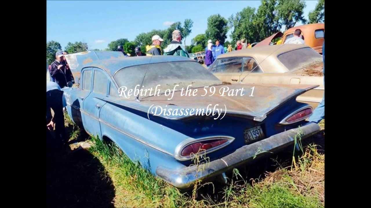 Belair Auto Auction >> 59 Bel Air Restoration Part 1 Time Lapse Lambrecht Auction Vehicle