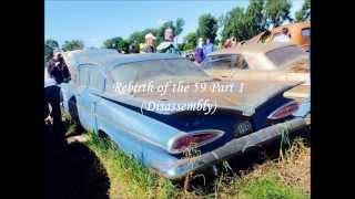 59 Bel Air Restoration Part 1 (time lapse) Lambrecht Auction Vehicle