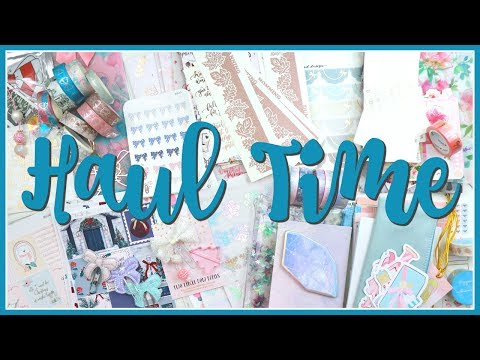 Haul Time! Planners, Stickers and Accessories