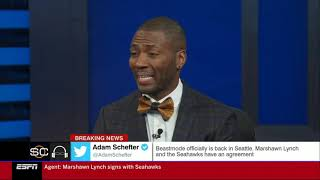 """Ryan Clark reacts to Kirk Cousins, Vikings loss to Packers 23-10 on """"MNF"""""""