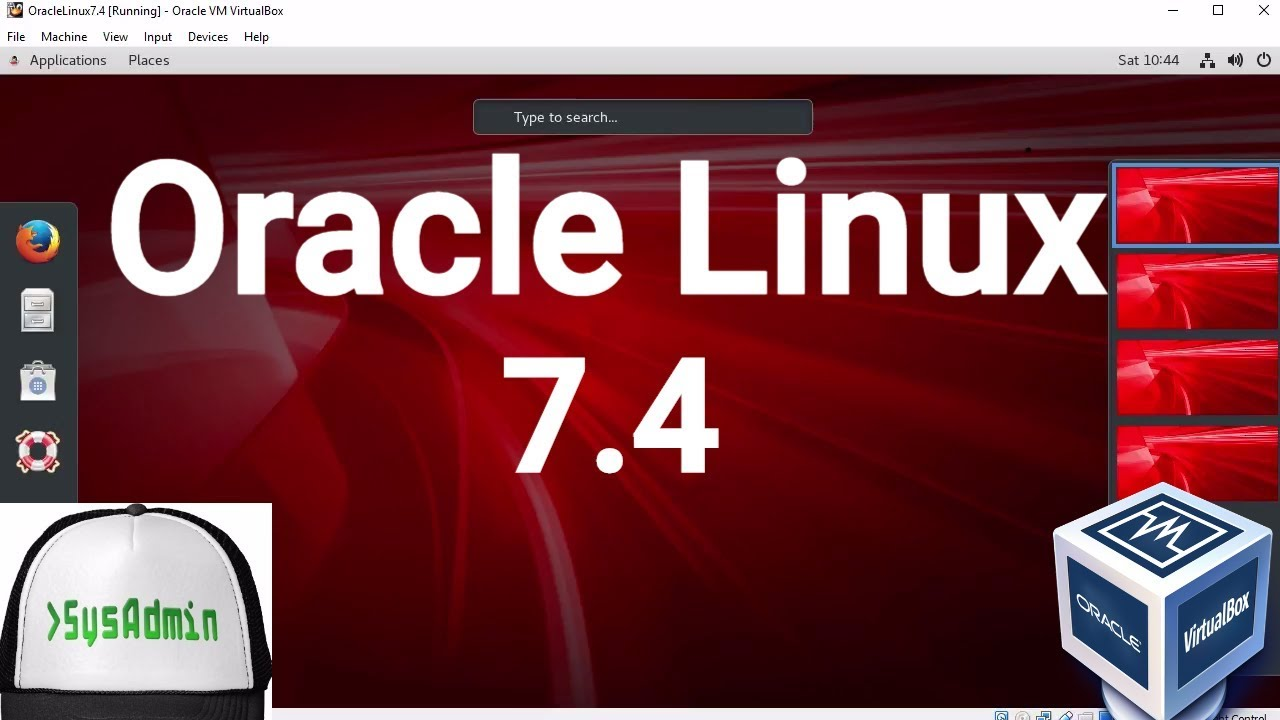 Oracle Linux Server 7 4 Installation + Guest Additions on Oracle VirtualBox  [2017]