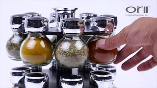 Orii™ Harvest 16-Jar Spice Rack