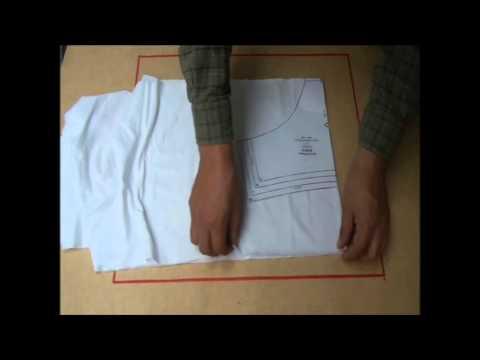 Como hacer ropa interior: Panty Clasico 1 -cortar