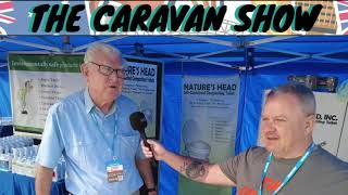 The Caravan Show with Nature's Head Self Contained Composting Toilets