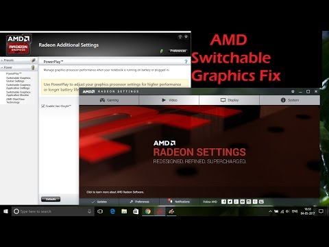 AMD Switchable Graphics Fix for Windows 7, 8, 8.1 & 10 (Step 1- 11)