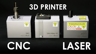 Snapmaker 2.0 REVIEW - All-Metal 3D Printer/Laser Cutter/CNC Router