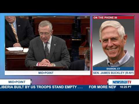 """Midpoint   Honorable James Buckley discusses his new book, """"Saving Congress from Itself"""