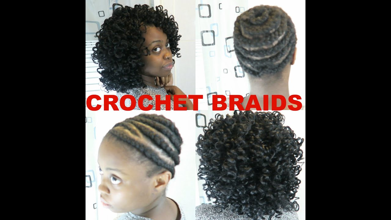 DIY HOW TO CROCHET BRAIDS WITH CURLY HAIR