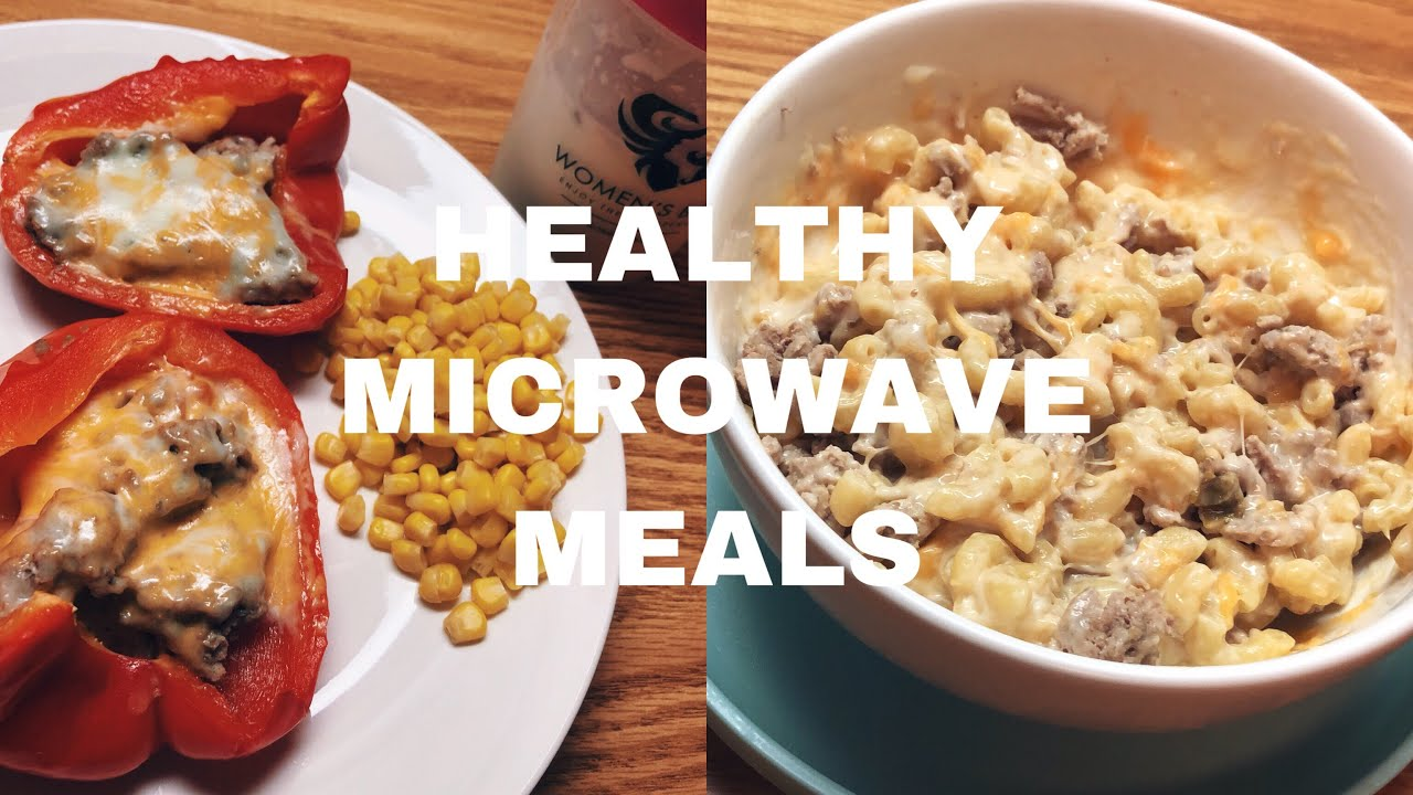 3 Healthy Microwave Meals Dorm Friendly