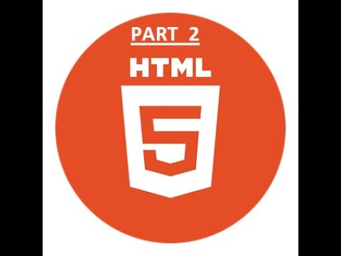 HTML Tutorial FOR BEGINNERS ( PART - 2 ) thumbnail