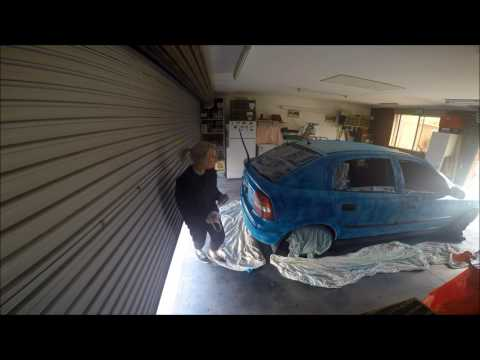 Spray Painting My Car & Introducing My Facebook Page