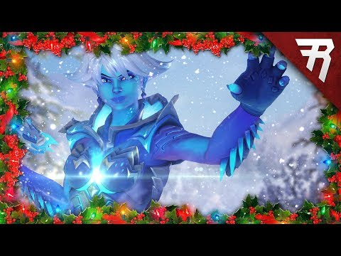 New Skins, Cosmetics, Game Mode Showcase: Overwatch Winter Wonderland Christmas 2017 Event Gameplay