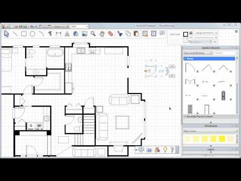 Adding Doors, Windows and More — AutoCAD Freestyle Symbols