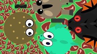 MOPE.IO TROLLING KILLS! AMAZING TROLLS DONKEY & PUFFERFISH / BLACK DRAGON KILLED? (Mope.io Gameplay)