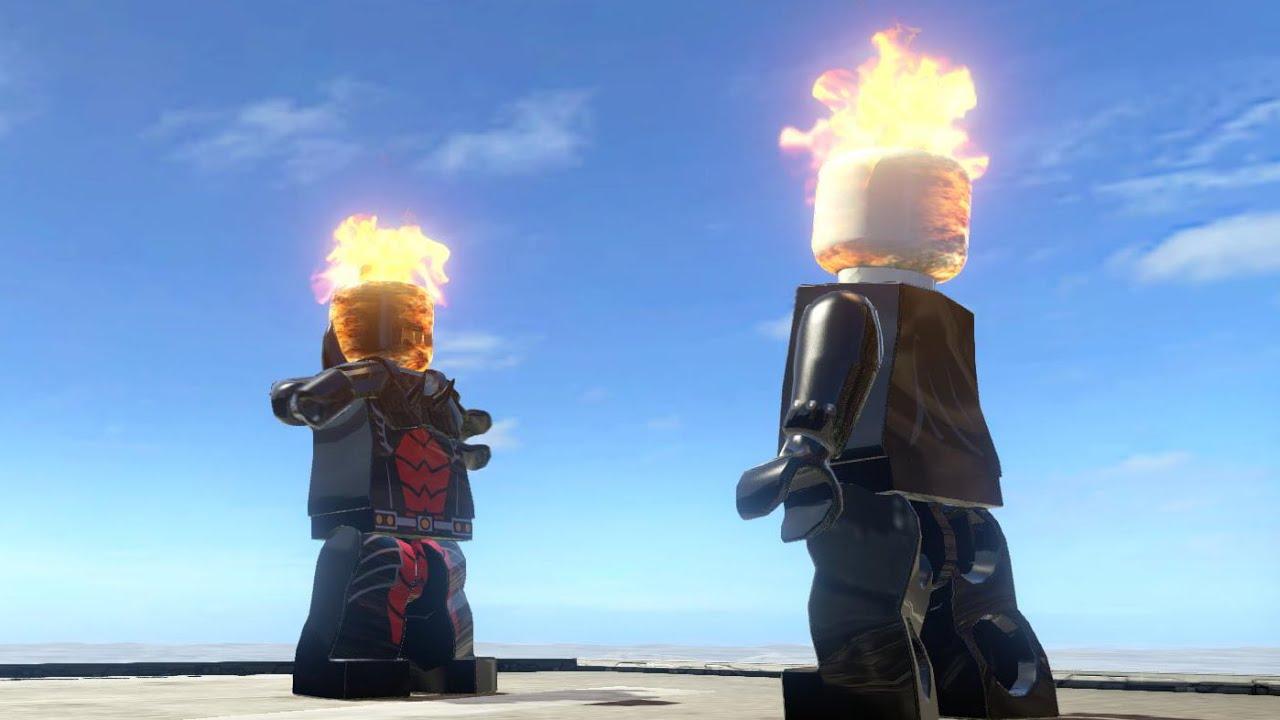 DORMAMMU VS GHOST RIDER (BATTLE) - LEGO Marvel Super ...