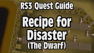 RS3: Recipe for Disaster (The Dwarf) Quest Guide - RuneScape