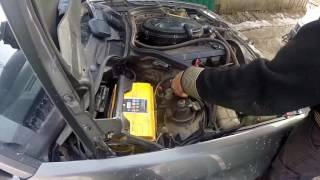 MERCEDES w124 ABS DIAGNOSTIKA