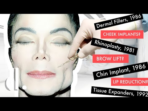 How Much Plastic Surgery Did Michael Jackson Actually Have? | the detail.