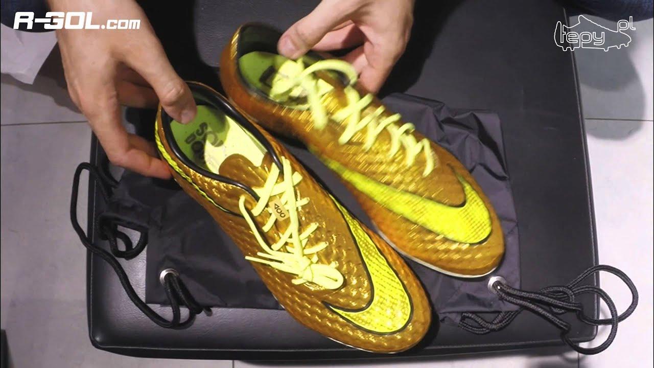 differently 5578d 44990 Korki Neymara - Nike Hypervenom Phantom Golden Dream - UNBOXING