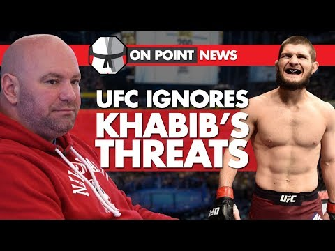 UFC Ignores Khabib's Threats, Khabib Challenges Mayweather!? Conor Goes To A Dallas Cowboys Game