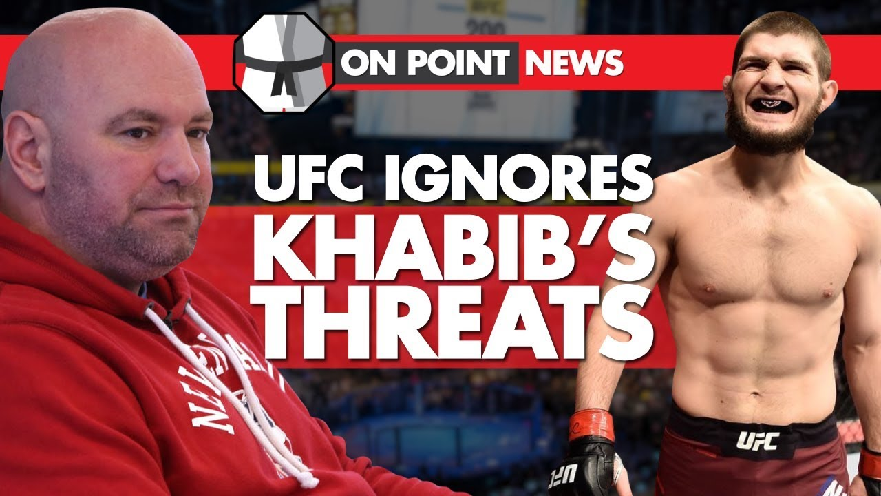 ufc-ignores-khabib-s-threats-khabib-challenges-mayweather-conor-goes-to-a-dallas-cowboys-game