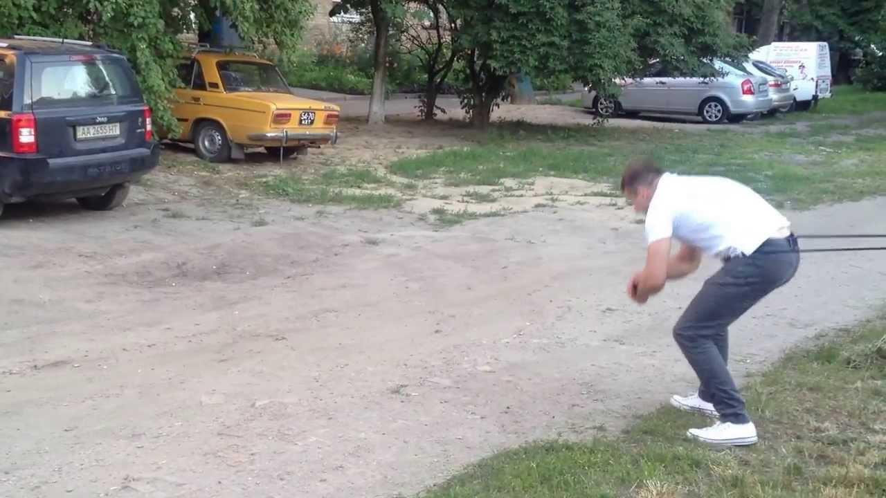Упражнения с борцовской резинкой - YouTube