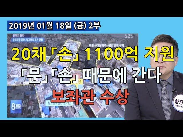 2부 20채 1100억 지원 손혜원 얼마나 더 늘어날까? 「문」 손혜원 때문에 간다? 수상한 보좌관  [정치분석] (2019.01.18)
