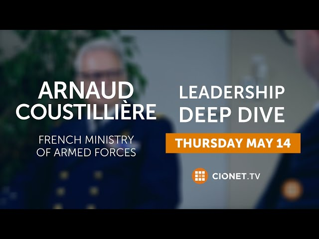 THU 14 MAY – Arnaud Coustillière, Ministry of Armed Forces