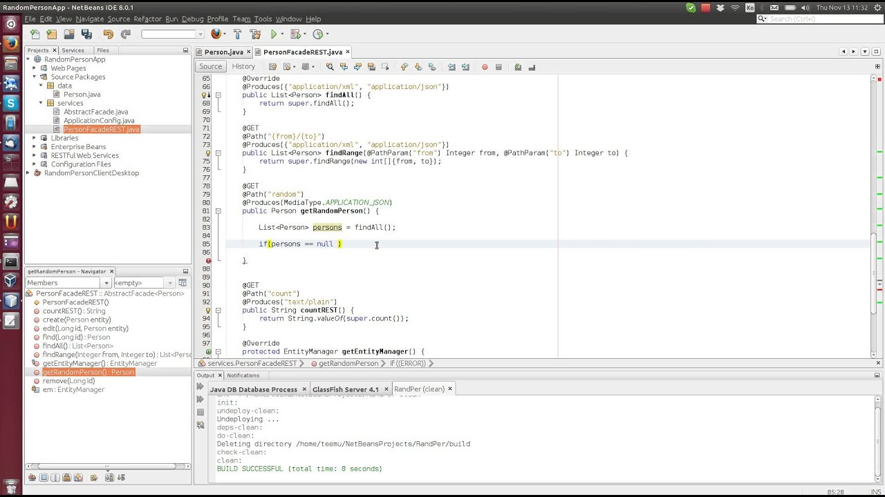 Ejb as a jax rs web service tutorial 3 entity facade as a web ejb as a jax rs web service tutorial 3 entity facade as a web service with json xml baditri Images