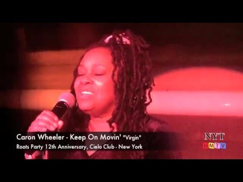 Soul II Soul feat Caron Wheeler - Keep on Movin' LIVE at Cielo Club-New York