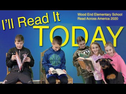 I'll Read It Today: Wood End Elementary School Read Across America 2020