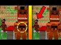 Minecraft Encuentra Las Diferencias Entre Five Nights At Freddy | FREDDY, CHICA, FOXY Y BALLOON BOY
