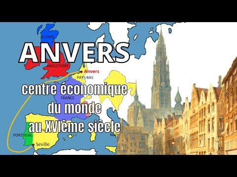 Anvers, centre du