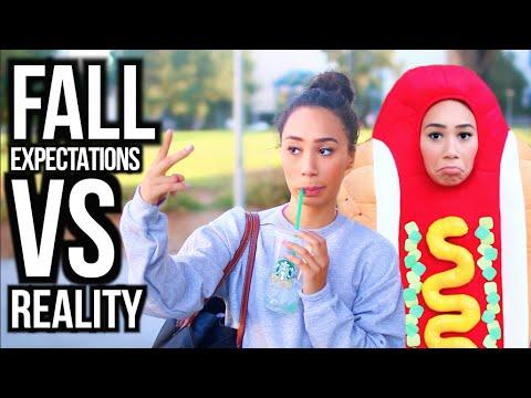 Expectations Vs. Reality : Fall Season | MyLifeAsEva