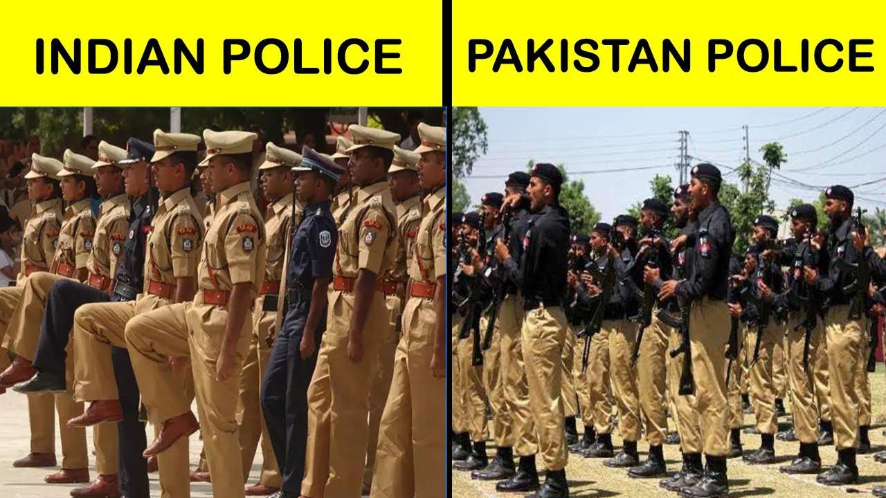 Indian police vs Pakistani police Comparison UNBIASED in Hindi #shorts  #short - YouTube