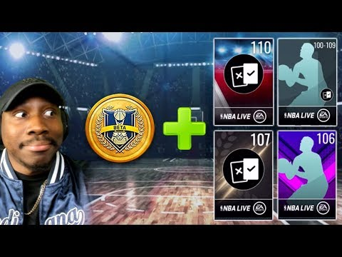PvP Mode Info + HIGH OVR Pack Opening! NBA Live Mobile 19 Season 3 Ep. 140