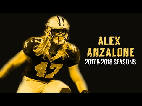 "Alex Anzalone 2017 & 2018 Highlights   ""Thor"" ᵂᴰ⁴ᴸ"