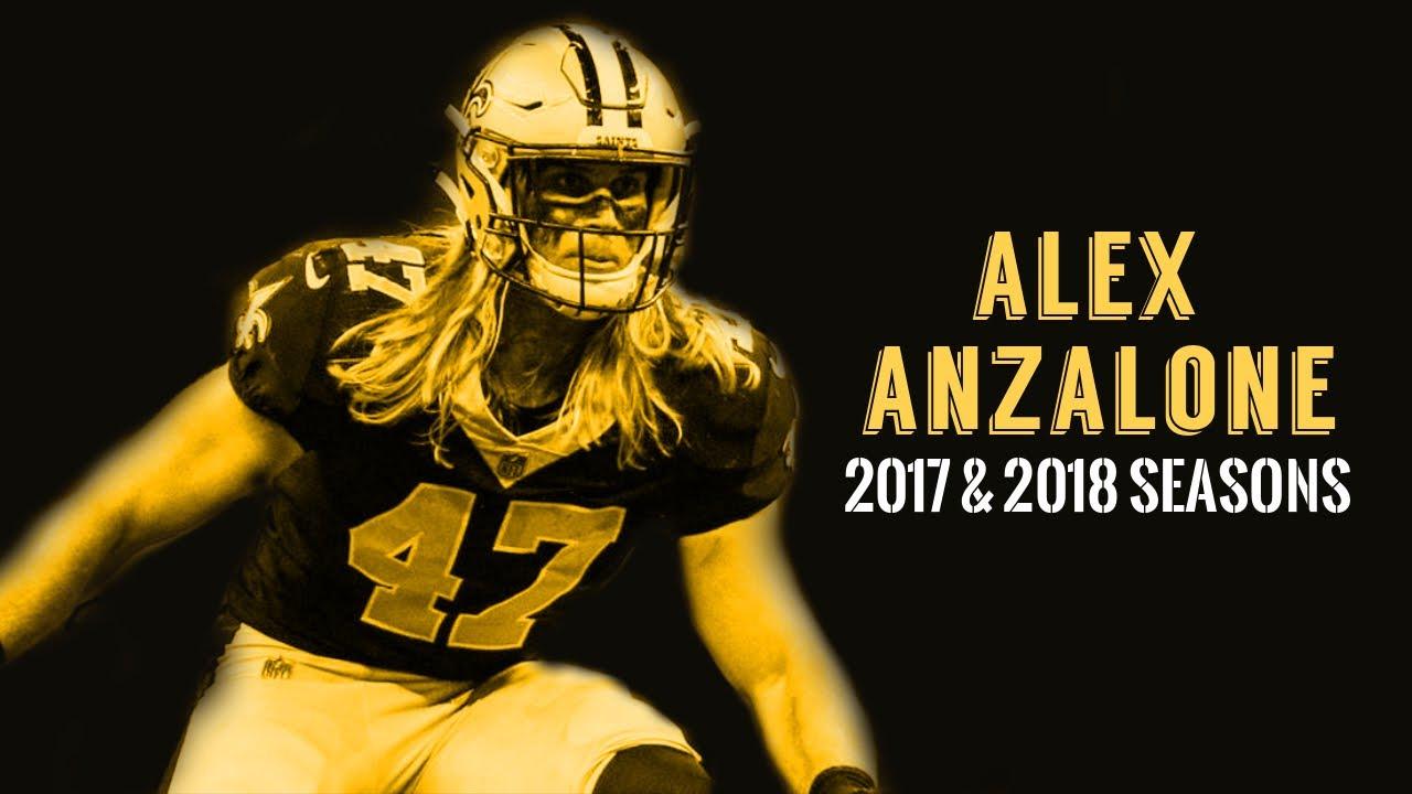 on sale 845e9 11dbf Alex Anzalone 2017 & 2018 Highlights |