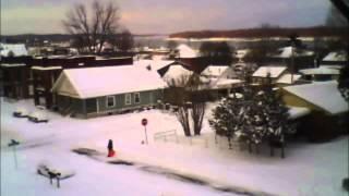 Cape Girardeau Snow Time Lapse February 2015 - LONG