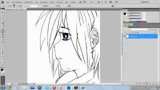 Как рисовать аниме в фотошопе